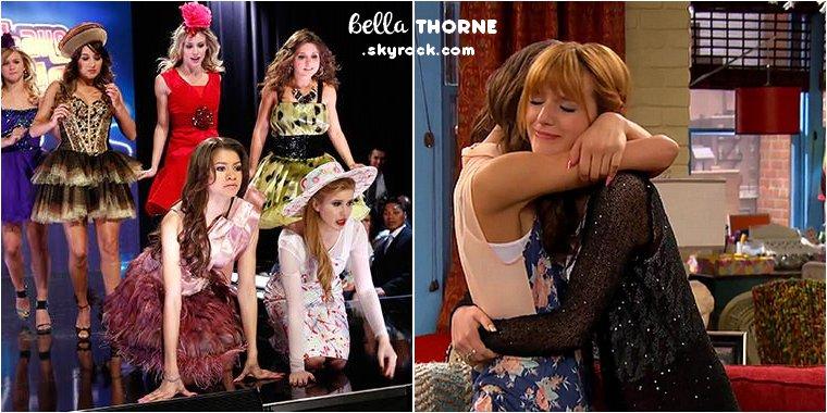 BELLA THORNE PARLE DE LA FIN DE LA SÉRIE « SHAKE IT UP»  DANS « TV GUIDE » .