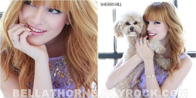 Découvrez le photoshoot de Bella pour la créatrice Sherri Hill !
