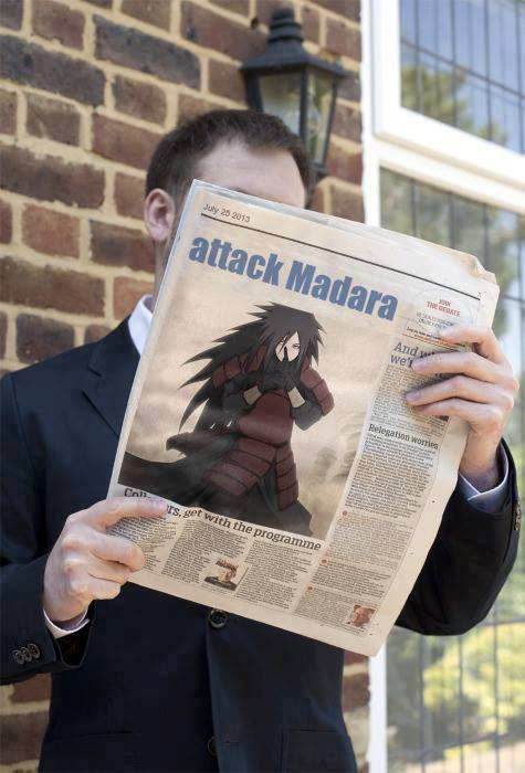 attack madara (drôle de journal ^^)