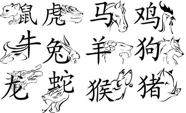 les signes astrologique chinois ^^
