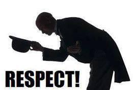 quand je vois ça je dit respect