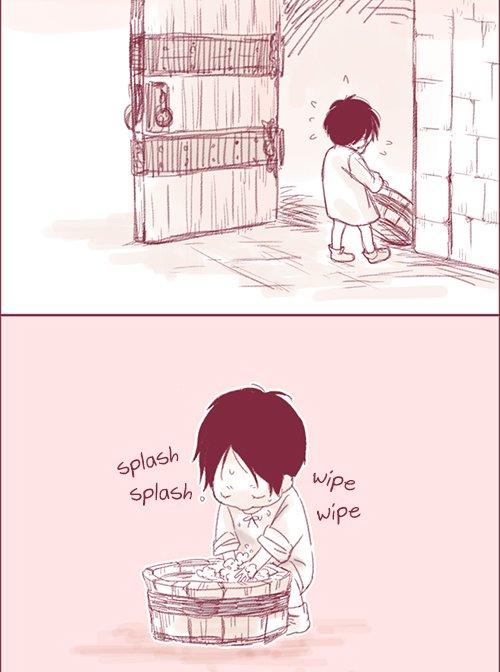 funny atack of titan kiss baby ^^
