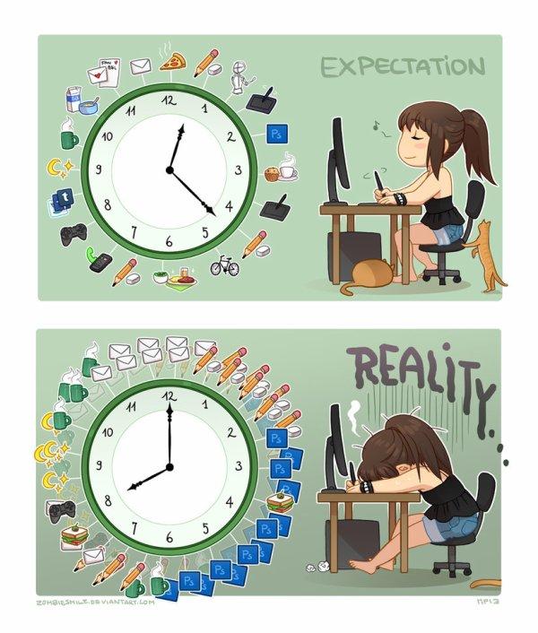la vie d'un artiste