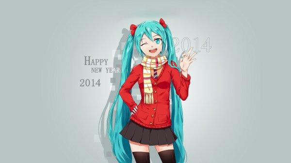 bonne année 2014 XD !!!!!!