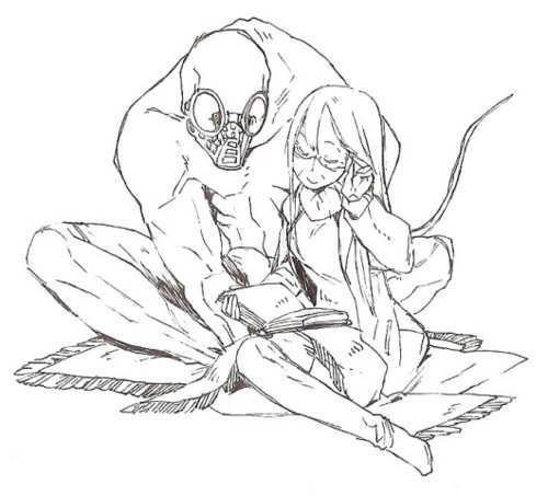 le monstre et la fille au fleure partie 1