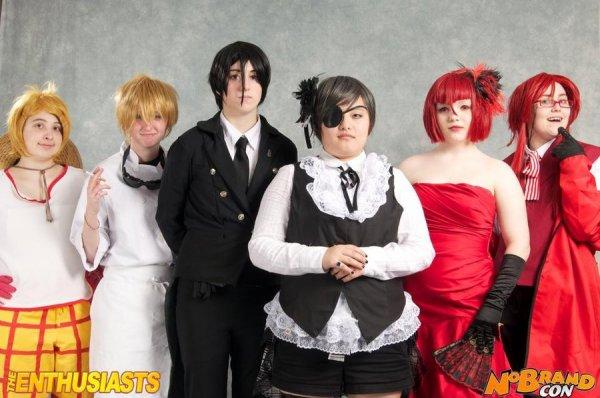 black butler cosplay XXL lol