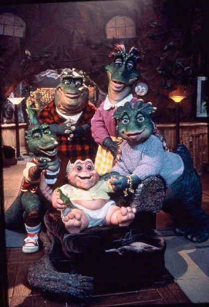 la famille dinosaures que de souvenir