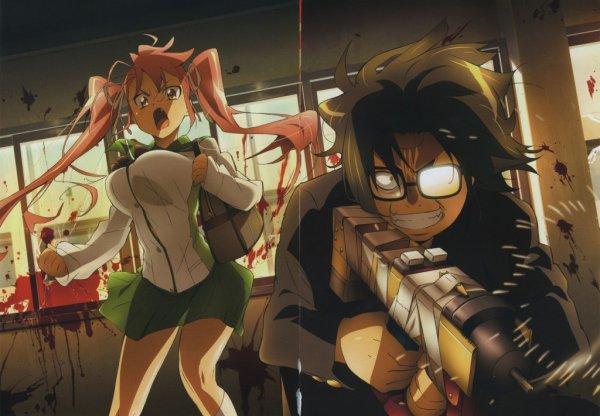 concours de dessin N°6 spéciale zombi manga ^^ fini