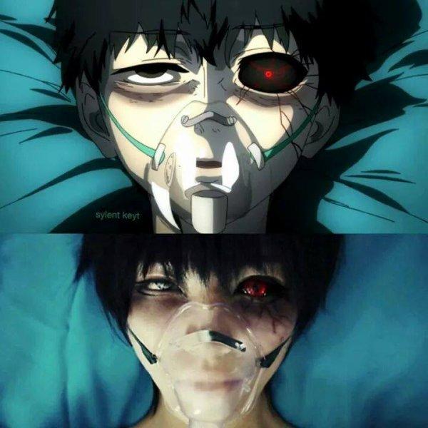 Tokyo Ghoul bonus cosplay et funny image ^^