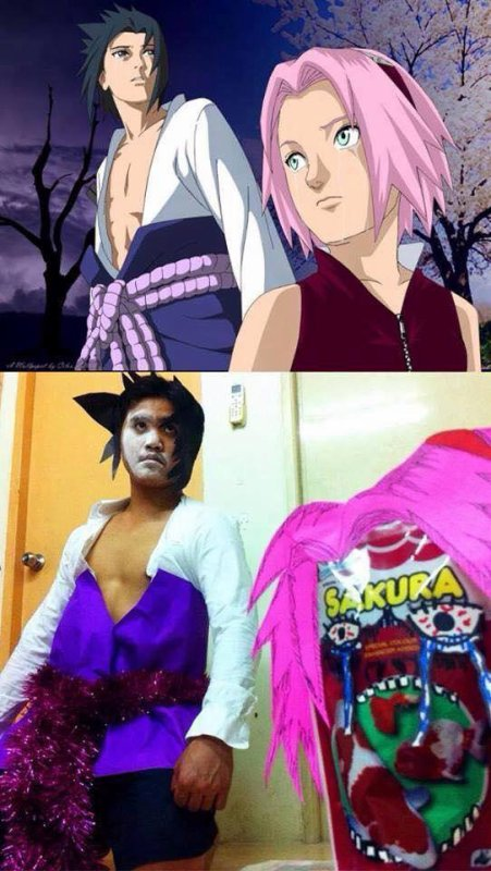 cosplay raté