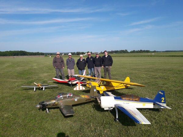 Groupe de pilotes du jour