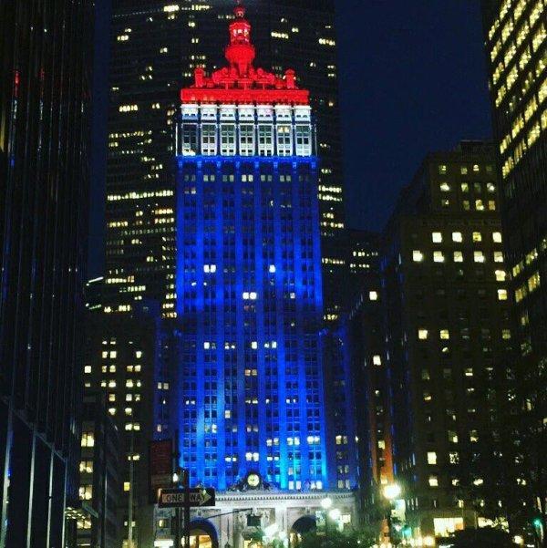 Grand Central à New York ce soir. #NiceFrance