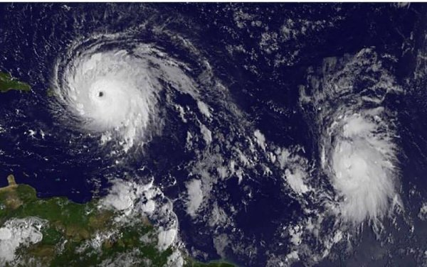Tristesse et sentiment d'impuissance face à cette catastrophe. Nous pensons fort à vous tous. #saintmartin #saintbarth #Antilles