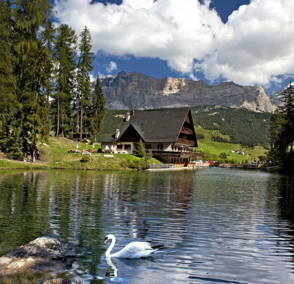Lago Sompunt #italie