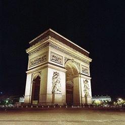 L'Arc de Triomphe #paris #nuit