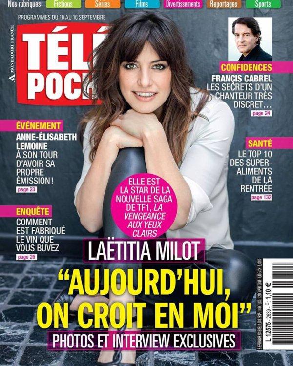 Un ancien Télé Poche .ELLE EST LA STAR DE LA NOUVELLE SAGA DE @tf1, #lavengeanceauxyeuxclairs