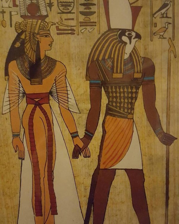 Un beau tableau de l'Égypte