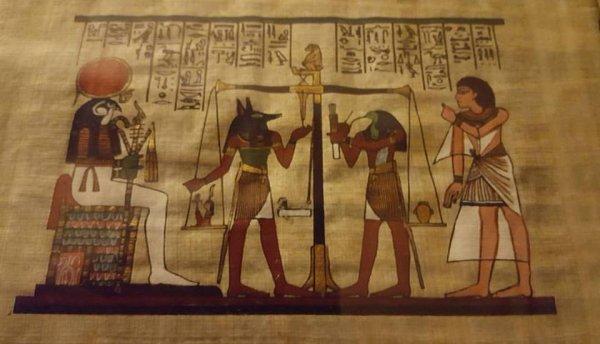 Une belle toile #Égypte