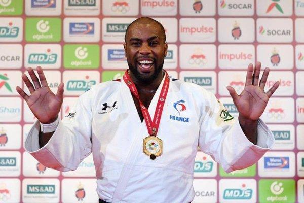 Hier #judo : 10ème titre de champion du monde pour Teddy Riner ! Bravo  #judoMarrakech2017