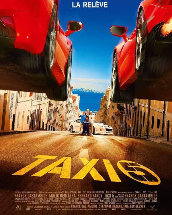 Aujourd'hui au cinéma taxi 5