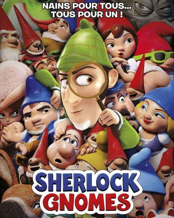 Actuellement au cinéma #sherlockgnomes