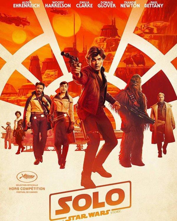 Actuellement au cinéma SOLO À Star Wars Story