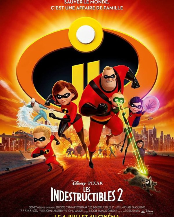 Actuellement au cinéma les #indestructibles2