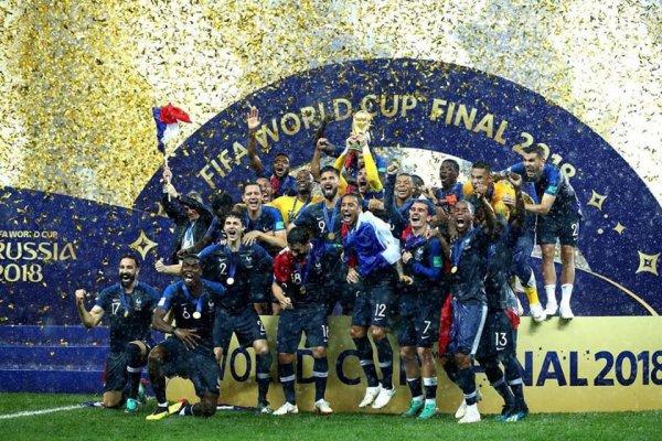 CHAMPIONS DU MONDE. Vive la France
