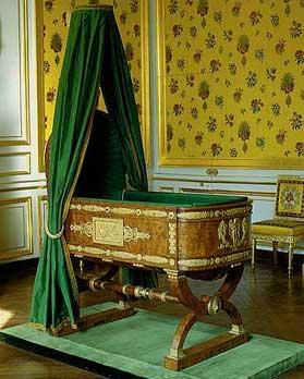 le berceau du roi de rome napoleon ii. Black Bedroom Furniture Sets. Home Design Ideas
