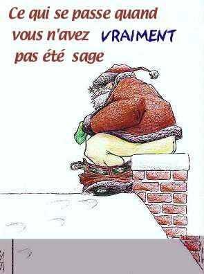 Image De Pere Noel Humour.Pere Noel Humour Nos Trois Capons