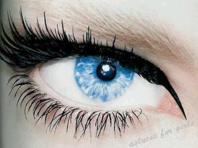 """Pour faire """"briller"""" vos yeux."""