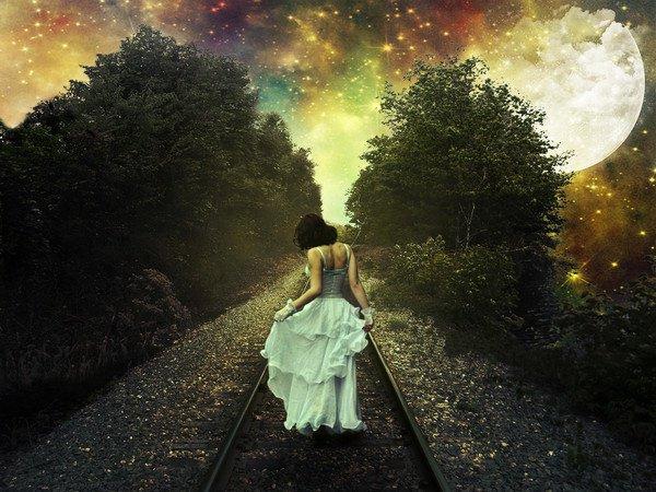 Mais sur le chemin, il y a un mystère du destin à révéler Qu'y a t'il ? Derrière ... Que vois-tu ? Il y a autre chose ... Si tu regardes avec le c½ur, tu arriveras jusqu'à moi