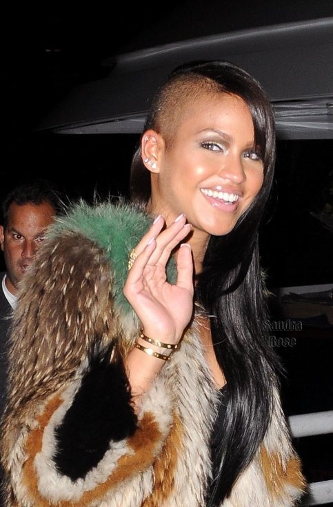 Cassie leaving Kim Kardashian's Yacht party in Chelsea Piers have been added to the gallery.