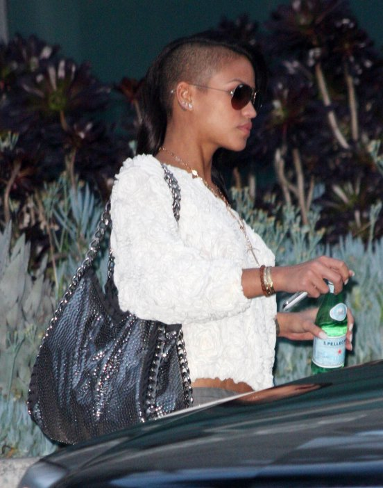 Cassie arrives at the studios of ''Chelsea Lately'' in LA December 16