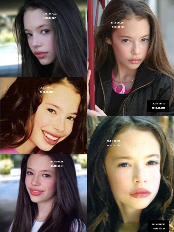 .    Anciennes « Agency Photos » de Chloe       Tu aimes ? (Certaines photos étant très petites, j'ai été obligée de les étirer, d'où la mauvaise qualité) .