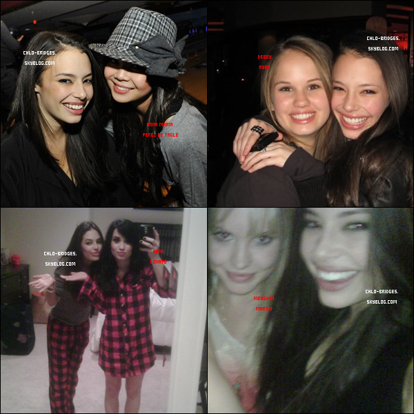 .      Parmi toutes les meilleures amies de Chloe, laquelle préfères-tu ?           Anna Maria PdeT, Debby Ryan, Demi Lovato ou Meaghan Martin ?   .