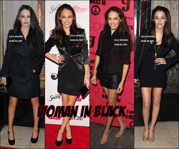 .     Je te laisse trouver les 3 points communs, ainsi que la couleur préférée de Chloe ...           Remercions Demi Lovato qui a inauguré le style vampire (avec succès)   .