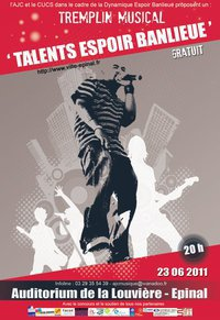 "Tremplin Musical  "" Talents Espoir Banlieue """