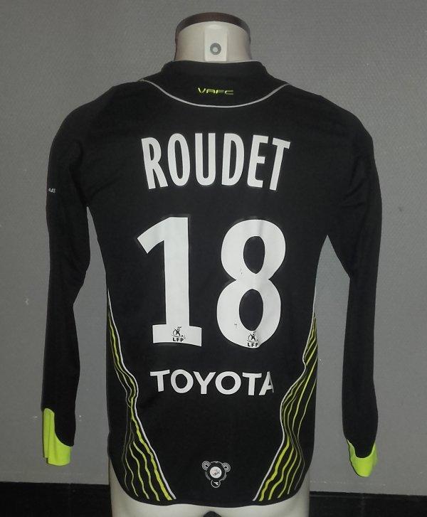 Maillot porté par Sébastien Roudet lors de la saison 07/08 avec le VAFC en ligue 1