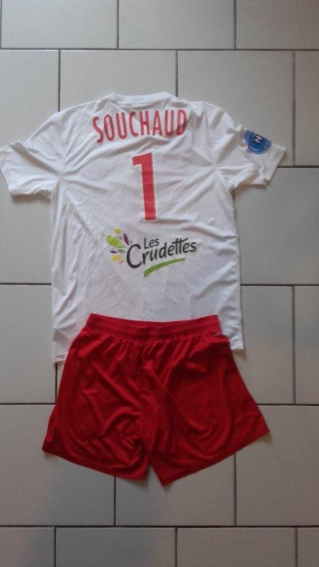 Ensemble Louis Souchaud  porté lors de la 17éme journée le 21 décembre 2016 contre Lyon duchére (0-0)