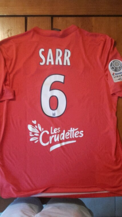 Maillot Sidy Sarr LBC / Nimes saison 17-18