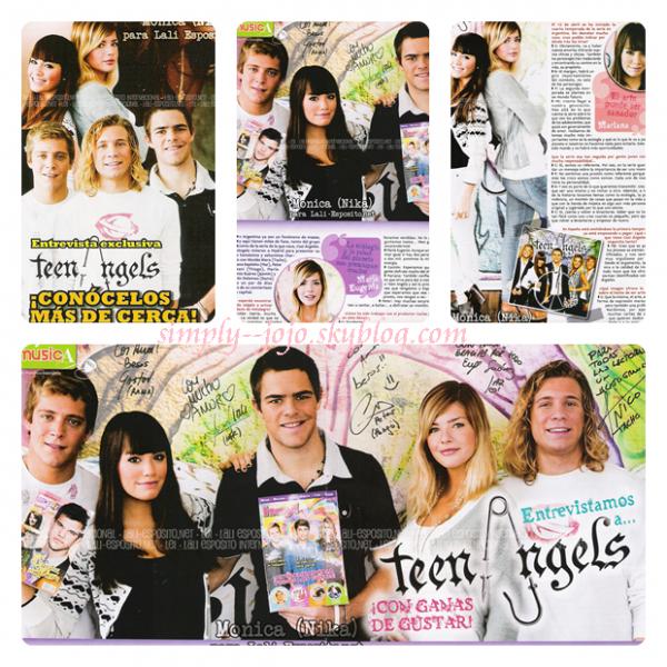 Images du Magazine Espagnol HEY!