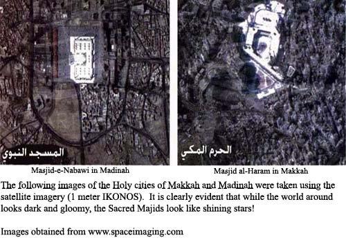 The Sacred Masjids of Islam Shining Like Stars