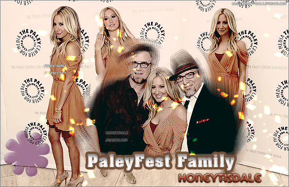 - 13/08 Ashley a PaleyFest family -