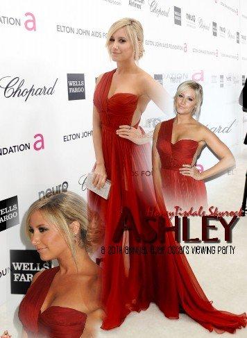 Notre belle Ashley à la cérémonie par Elton John. Désolée pour ce montage miteux, ce n'est que provisoire.