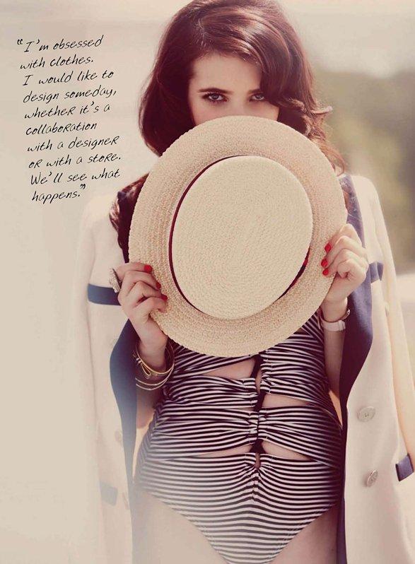 # 243  _ · ` Emma Roberts