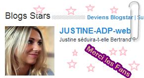 ***Je suis Blog Star***