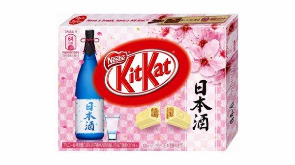 Au Japon, il est désormais possible de déguster des Kitkat au saké !