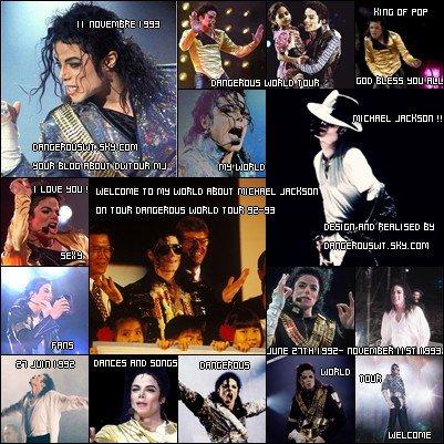 •••Bienvenue dans le blog sur la tournée magnifique le Dangerous World Tour de Michael Jackson ••• du 27 juin 1992 à 11 novembre 1993