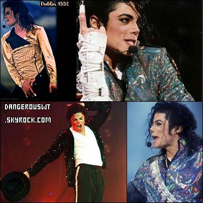 25 Juillet 1992 : Michael est en tournée à Dublin en Irlande July 25th 1992 : Michael is on tour in Dublin in Ireland